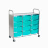 Triple Callero antimicrobial cart